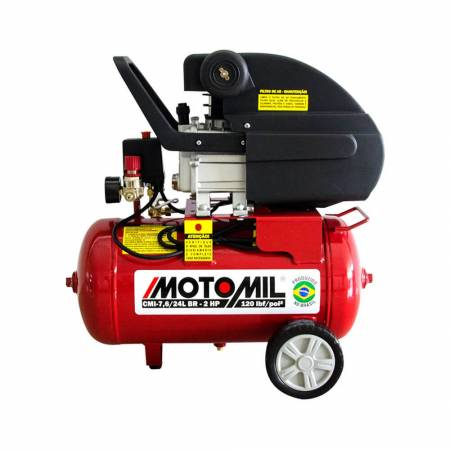 Motocompressor 120lbs 2hp - Motomil